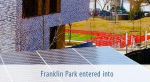 Franklin Park entered into